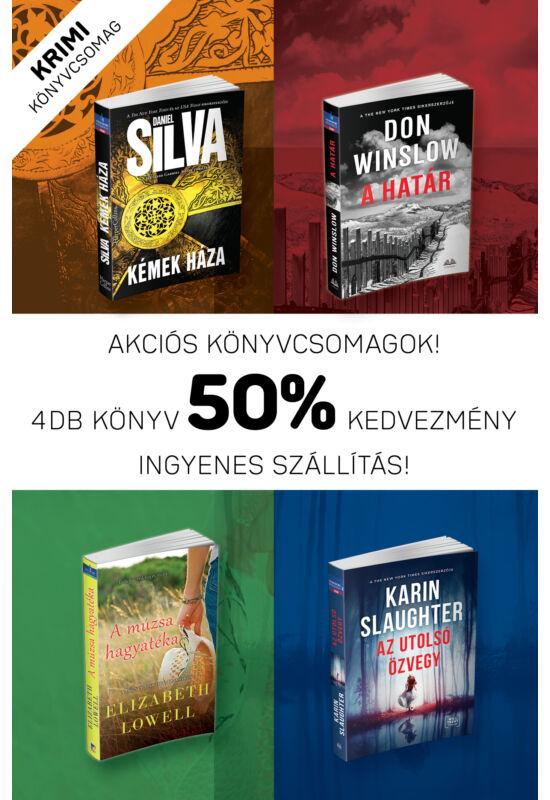 Krimi könyvcsomag